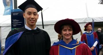 Camp Lab Masters of Rehabilitation Sciences student Christen Chan graduates!