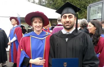 Camp Lab Masters of Rehabilitation Sciences student Satvir Dhillon graduates!